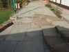 Hard Landscaping - Paving with steps