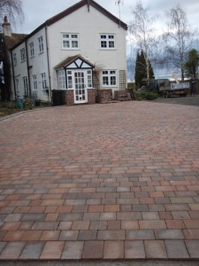 Traditional block paving