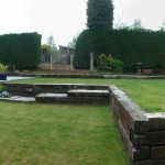 Hard Landscaping and Soft Landscaping combined to make a beautiful garden space